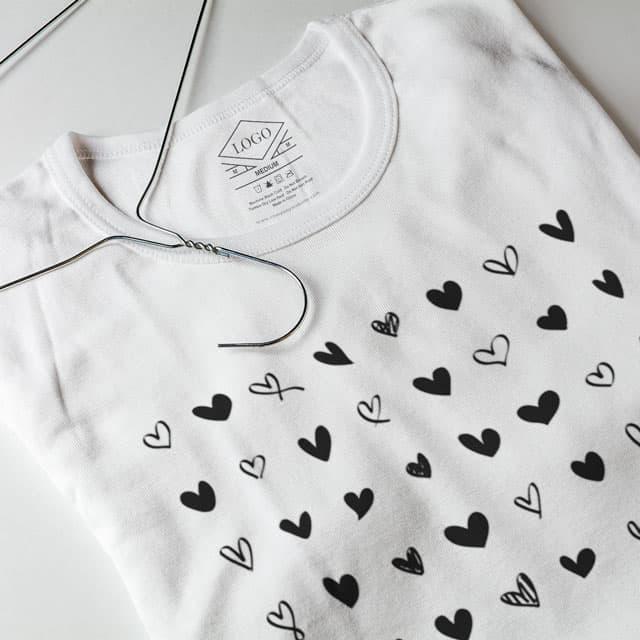 T-Shirt Inside Print Tag